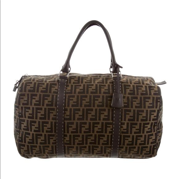 c6deb5ee33c Fendi Bags   Preowned Zucca Ff Logo Duffle Bag   Poshmark